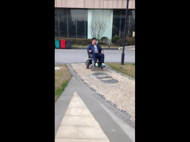 electric wheelchair driving performance thumbnail image
