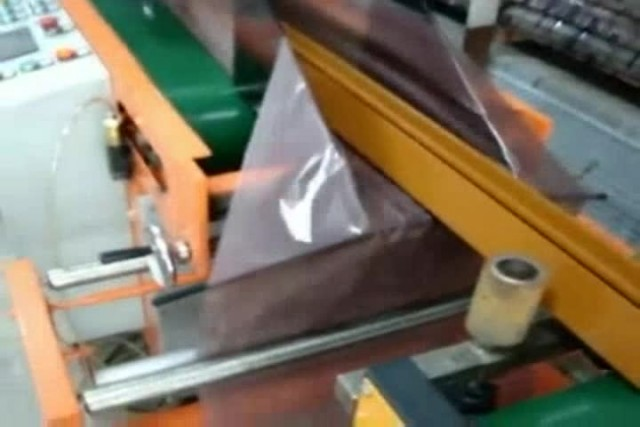 ultrasonic automatic wood film bagging machine thumbnail image