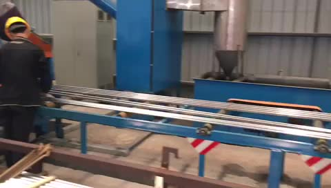 shot blasting machine for aluminum profiles thumbnail image