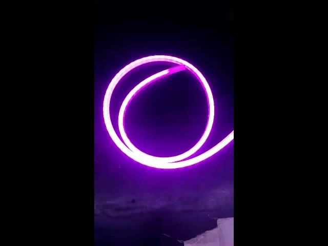 RGB led trunk light strip turning light