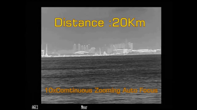 Long Range Continuous Zoom Thermal camera