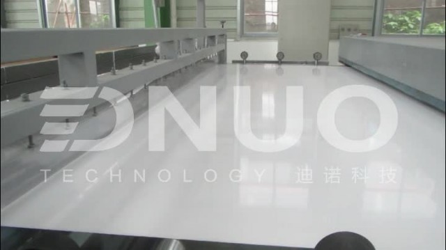Frp / fiberglass roofing sheet making machine