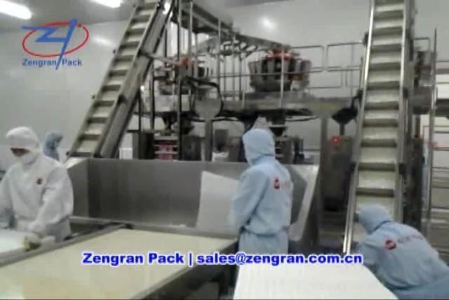 Automatic Frozen Foods Packaging Machine - Zengran thumbnail image