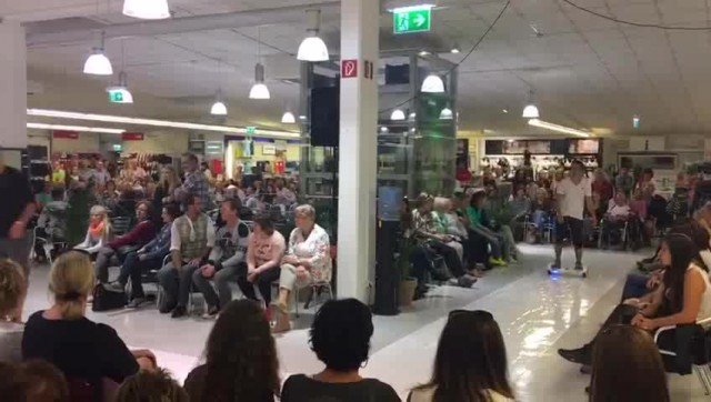 Chic scooter hover Board show in Australia thumbnail image
