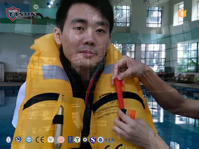 How to use inflatable life jacket