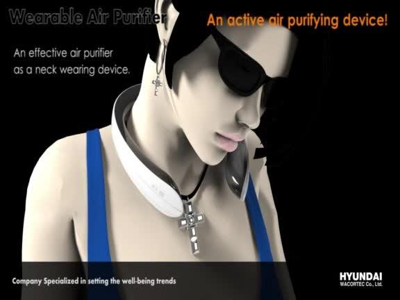 Portable Wearable Air Purifier