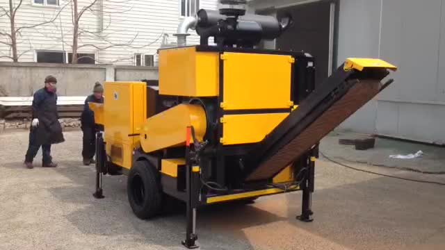 Beaver movable,carriable  sawdust machine thumbnail image