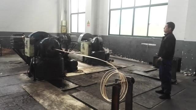 Beryllium copper wire workshop
