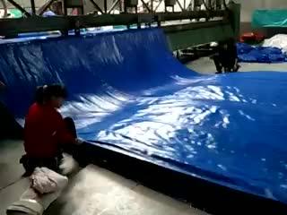 Fumigation tarpaulin