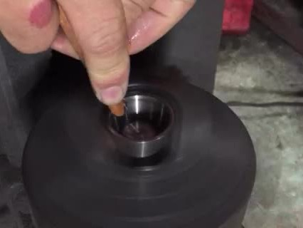 tungsten crucible polishing thumbnail image