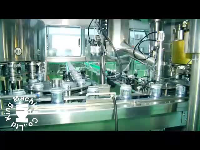 8000 bph can filling machine