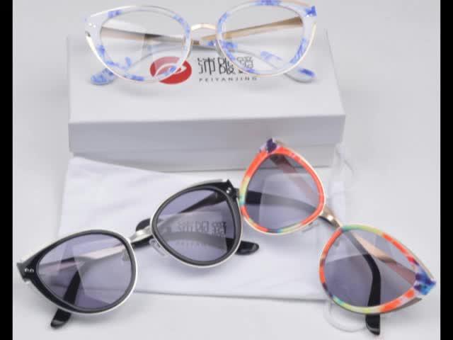 OEM Custom Logo Cat eye Ladies Sunglasses 2016 thumbnail image