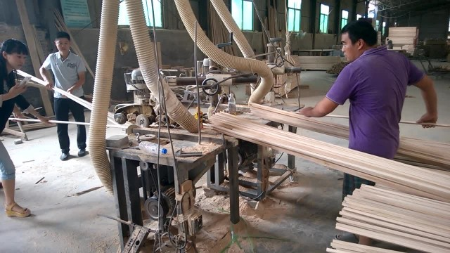 We are wooden products manufactory