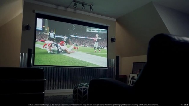 Electric projection screen thumbnail image