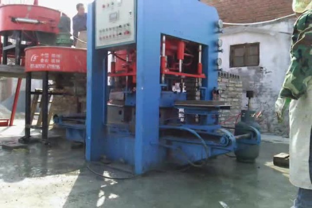 High-quality JS-400 terrazzo tile press machine thumbnail image