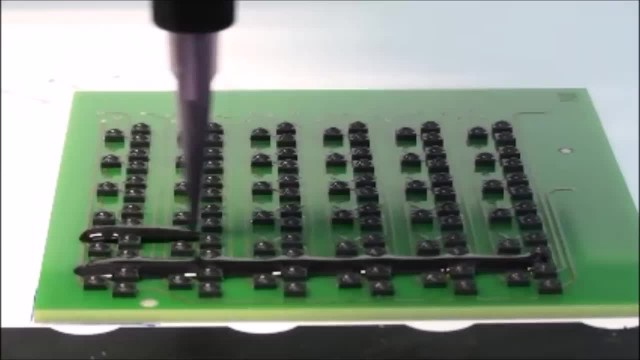 PCB board potting machine with epoxy resin thumbnail image