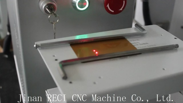 Fiber Laser Marking Machine Marking on Copper