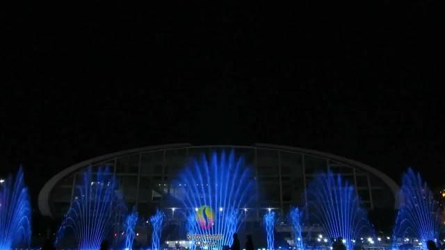 Music fountain In Yulin Guangxi thumbnail image