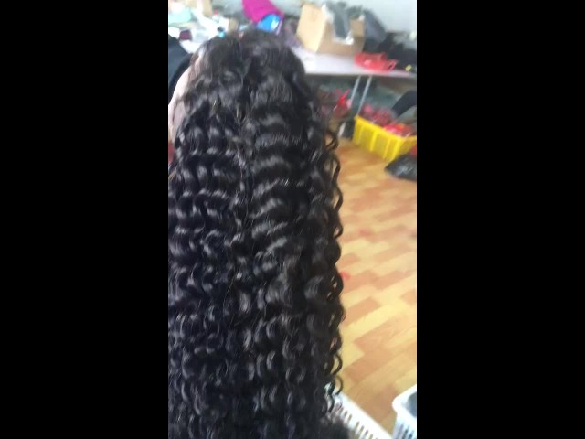 Curly 100% Human Hair Full Lace Front Wigs thumbnail image