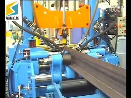 H beam production line 3 in 1