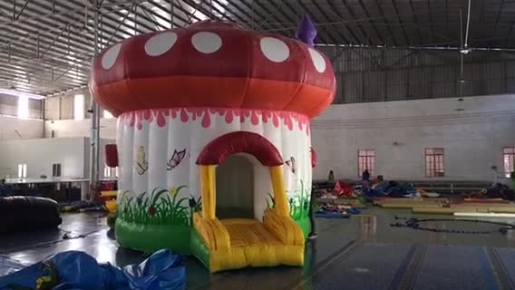 Toy Bouncy Mushroom House Inflatable Bouncer thumbnail image
