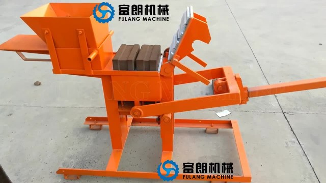 FL2-40 manual interlocking clay brick machine thumbnail image
