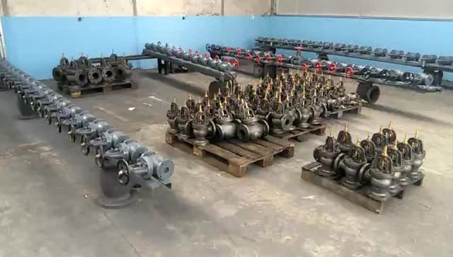 painting room for JIS marine valve