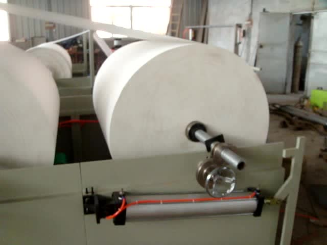 V folding 6 Lines Facial tissue making machine