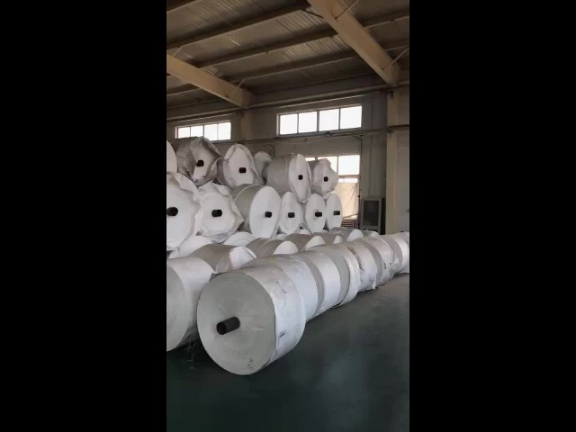 PP woven shopping bags factory.