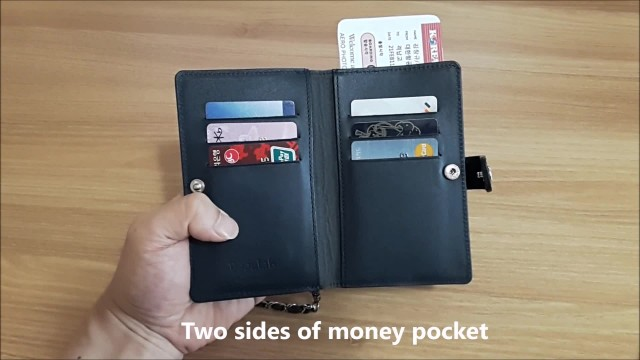 New concept of Passport Travel Wallet