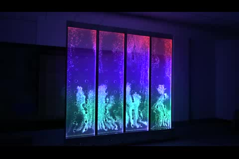customized digital dancing bubble fountain panel  thumbnail image
