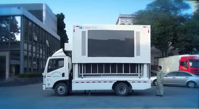Siwun D-6S mobile led stage truck