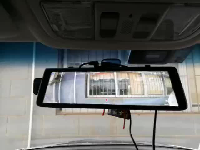 X690 rear mirror camera full screen thumbnail image