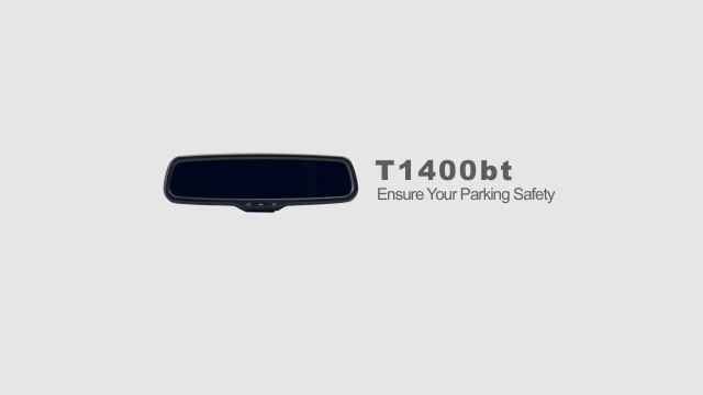 car mirror monitor T1400BT