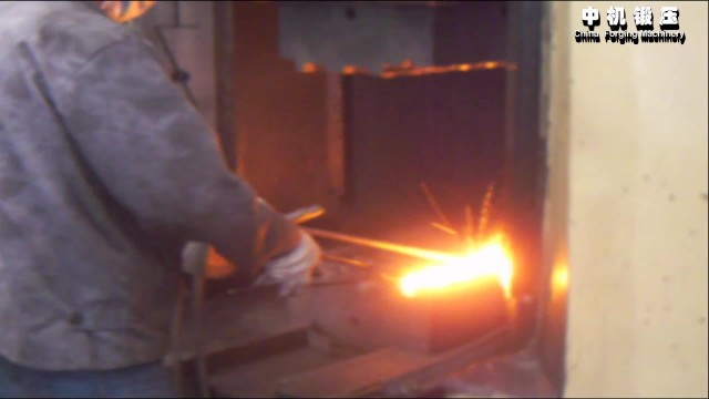 operation Video of hydraulic die forging hammer