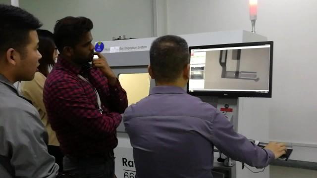 Microfocus X-Ray inspection machine X6600 video