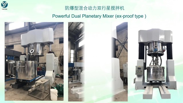Customized mixing equipment