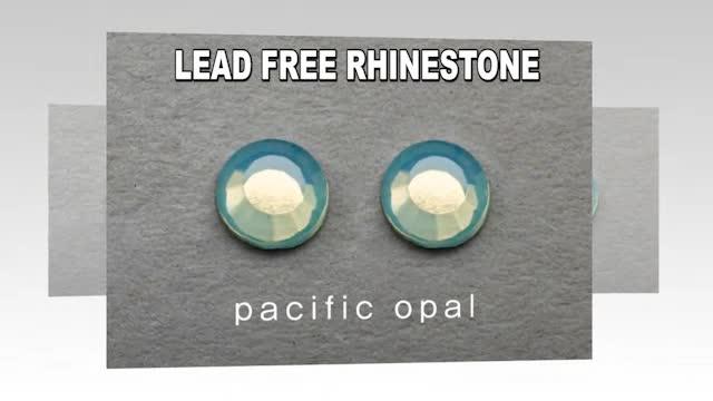Video of Lead Free Rhinestone, Rhinestud, Domestud
