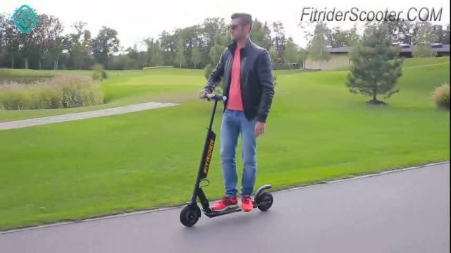 Fitrider Scooter T1S Model Video thumbnail image
