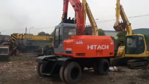 Hitachi EX100-1 operation video