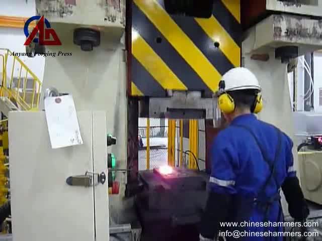Forging Line - 31.5KJ CNC Hydraulic Forging Hammer