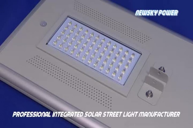 Solar led outdoor light all in one thumbnail image