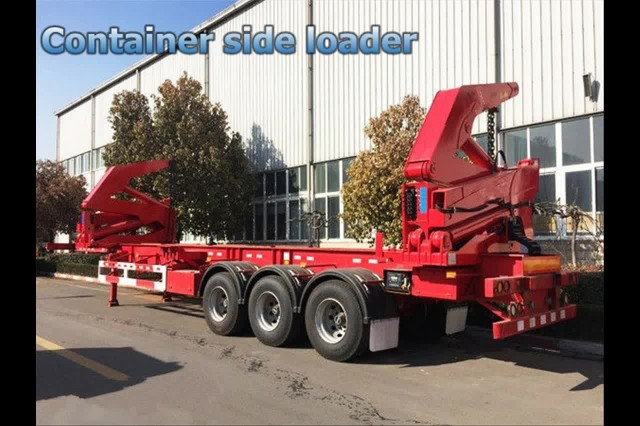 40ft container side loader, 3 axle trailer thumbnail image