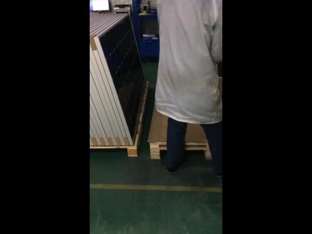 Our solar panel workshop
