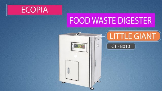 Indoor food waste decomposer for small food shop