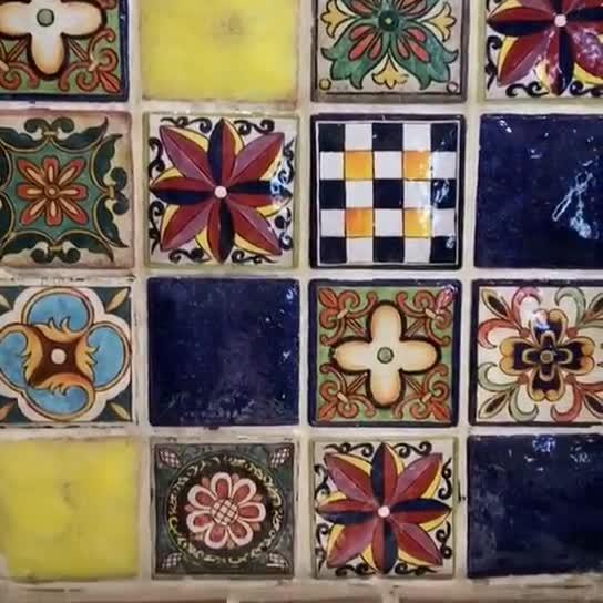Hand made ceramic tile thumbnail image