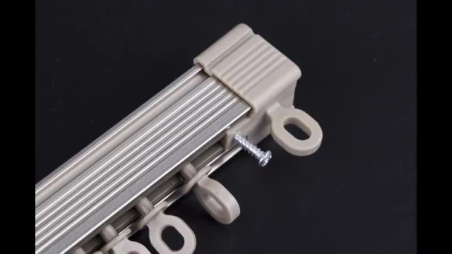 How to install a Aluminum Alloy curtain Track?