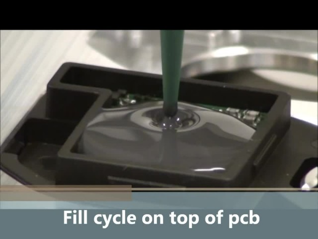 Glue potting machine for recharge thumbnail image