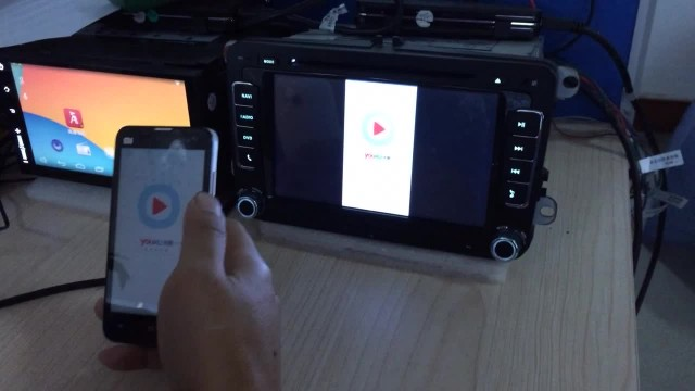 How to use Newsmy CarPad 2S Miracast function.