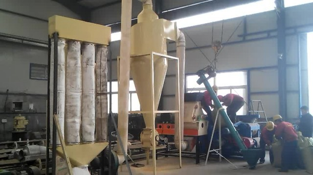 water drop hammer mill for rice husk